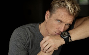 Picture hands, look, Dolph Lundgren, Dolph Lundgren, blonde, watch, actor, the film, male, beautiful, bracelet, the ...