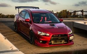 Picture Evolution, Mitsubishi Lancer, Harsh's, 500W
