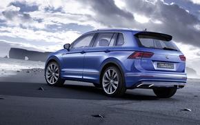 Picture Volkswagen, the concept, Volkswagen, GTE, Tiguan, 2015, Concept 2015, Tiguan