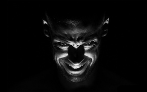 Picture black, people, the demon, evil, obsessed