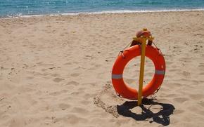 Picture BEACH, SAND, RESCUE, ROUND, SHORE, SUMMER