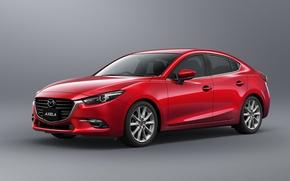 Picture background, sedan, Mazda 3, Mazda, Sedan