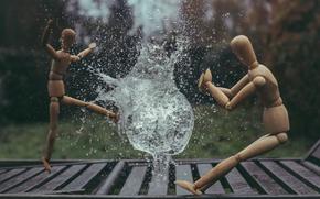 Picture the explosion, creative, wave, people, splash, men, photographer, wooden, bubble, photography, photographer, shock, water, ikea, …