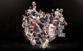 Picture Sport, Basketball, Miami, NBA, LeBron James, Heat, Player, Love the game