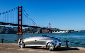 Picture bridge, Mercedes-Benz, Mercedes, 2015, F 015, Luxury in Motion