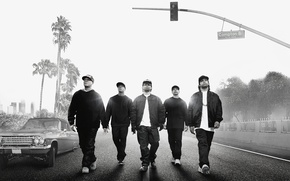 Picture Car, Music, Ice Cube, Street, Wallpaper, Road, Movie, Film, Palms, Way, Dr. Dre, Ride, Easy-E, ...