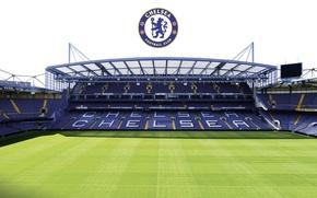 Picture wallpaper, sport, logo, stadium, football, England, Stamford Bridge, Chelsea FC
