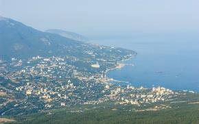 Picture mountains, Crimea, Yalta, The black sea