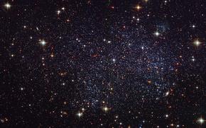Picture stars, galaxy, accumulation