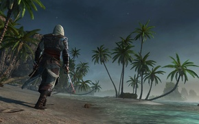 Picture pirate, assassin, Edward Kenway, Assassin's Creed IV: Black Flag