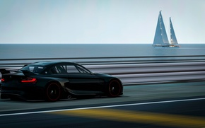 Picture speed, track, BMW