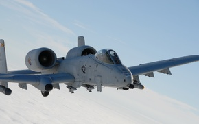 Picture the sky, A-10, attack, American, Thunderbolt II, flight, The thunderbolt II, twin-engine, single, armored