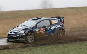 Picture ford, Hirvonen, rally, wrc, fiesta, 2014