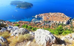 Picture the city, panorama, Croatia, Dubrovnik, Jadran