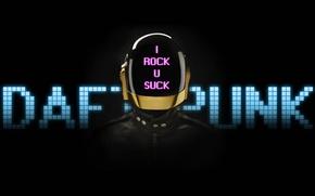 Picture Helmet, Music, Daft Punk, I Rock U Suck