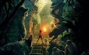 Picture Scarlett Johansson, Jungle, Fantasy, Nature, Tiger, Snake, The, Wild, Boy, Kid, Idris Elba, EXCLUSIVE, Walt …