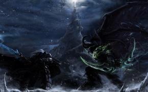 Picture battle, world of warcraft, Artes, Illidan