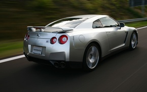 Wallpaper Nissan, SpecV, GT-R