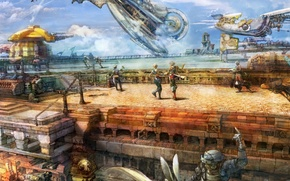 Picture battle, final fantasy XII