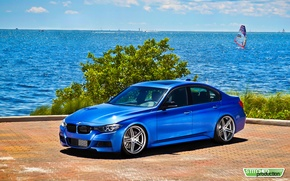 Picture the ocean, tuning, BMW, sedan, bmw 3 series