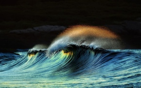 Picture SEA, WATER, The OCEAN, DROPS, WAVE, ELEMENT, SQUIRT, STORM