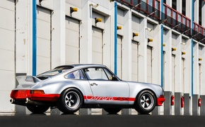 Picture red, silver, Porsche, silver, red, Porsche, rsr, carrera, 1973