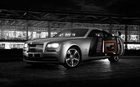 Picture Rolls-Royce, rolls Royce, Wraith, 2015, Wright, Inspired by Film