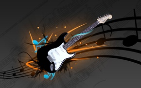 Wallpaper music, Guitar, electric guitar, fender, stratocaster, squier, strat