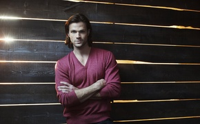 Picture character, supernatural, supernatural, Sam Winchester, actor, Over The Padalecki Jared