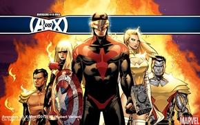 Picture mutants, comic, superheroes, colossus, cyclops, emma frost, Avengers vs X-Men, X-Men