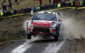 Picture red, wrc, citroen