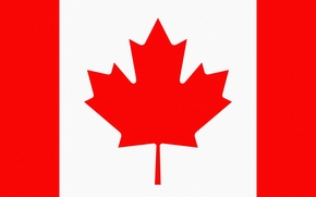Wallpaper Canada, Photoshop, Sheet, Flag, Canada, Coat of arms