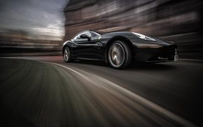 Picture movement, speed, Ferrari California