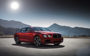 Wallpaper Bentley, Flying Spur, Bentley, flying spur