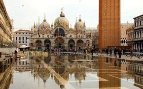 Picture Venice, The Cathedral Of St. Mark, Piazza San Marco