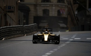 Picture Renault, Formula 1, Monte Carlo, The front, Barriers, Magnussen