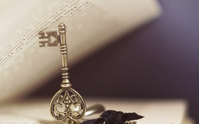Picture macro, key, book, page