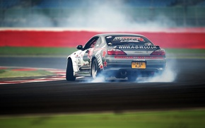 Picture Silvia, Nissan, Drift, Race, Smoke, Tuning, Road