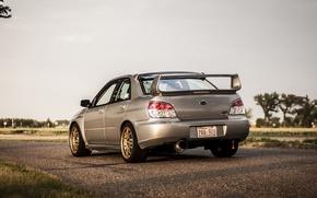 Picture Subaru, STI, tuning, Subaru, back