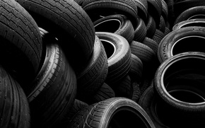 Picture macro, background, tires
