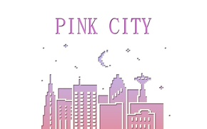 Picture the city, style, pink