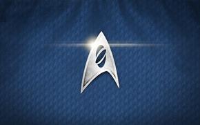 Picture cinema, logo, Star Trek, texture, movie, film, uniform, 50th anniversary, seifuku