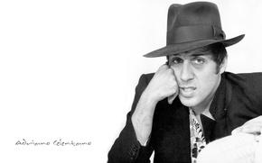 Picture actor, singer, Adriano, pop, figure, Italian, Celentano, public, Director, composer, presenter