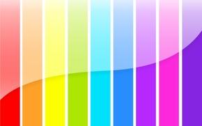 Picture color, strip, rainbow