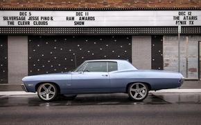 Picture retro, Chevrolet, classic, Chevy, Impala