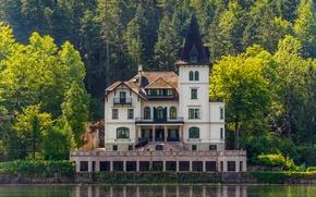 Picture lake, Castle, architecture, lake, castle, architecture