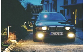 Picture BMW, Boomer, Lights, BMW, E38, Bimmer, 740i