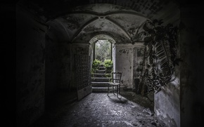 Picture architecture, Cemetery, the crypt