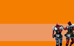 Picture red, spider-man, Deadpool, Deadpool, comics, Spider-man, MARVEL, Peter Parker, Wade Wilson