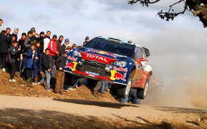 Picture People, Citroen, DS3, WRC, Rally, Rally, Sebastien Loeb, The front, In The Air, Flies, Daniel …